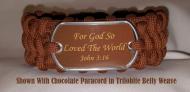John 3:16 Paracord Survival Bracelet