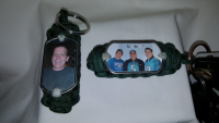 Custom Photo Paracord Key Fob