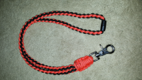 Round Braid Paracord Neck Lanyard