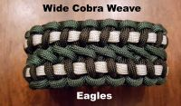 NFL Team Colors Paracord Survival Bracelet