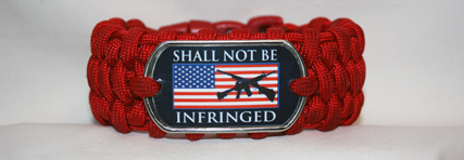 Patriotic- 2nd Amendment Paracord Bracelets